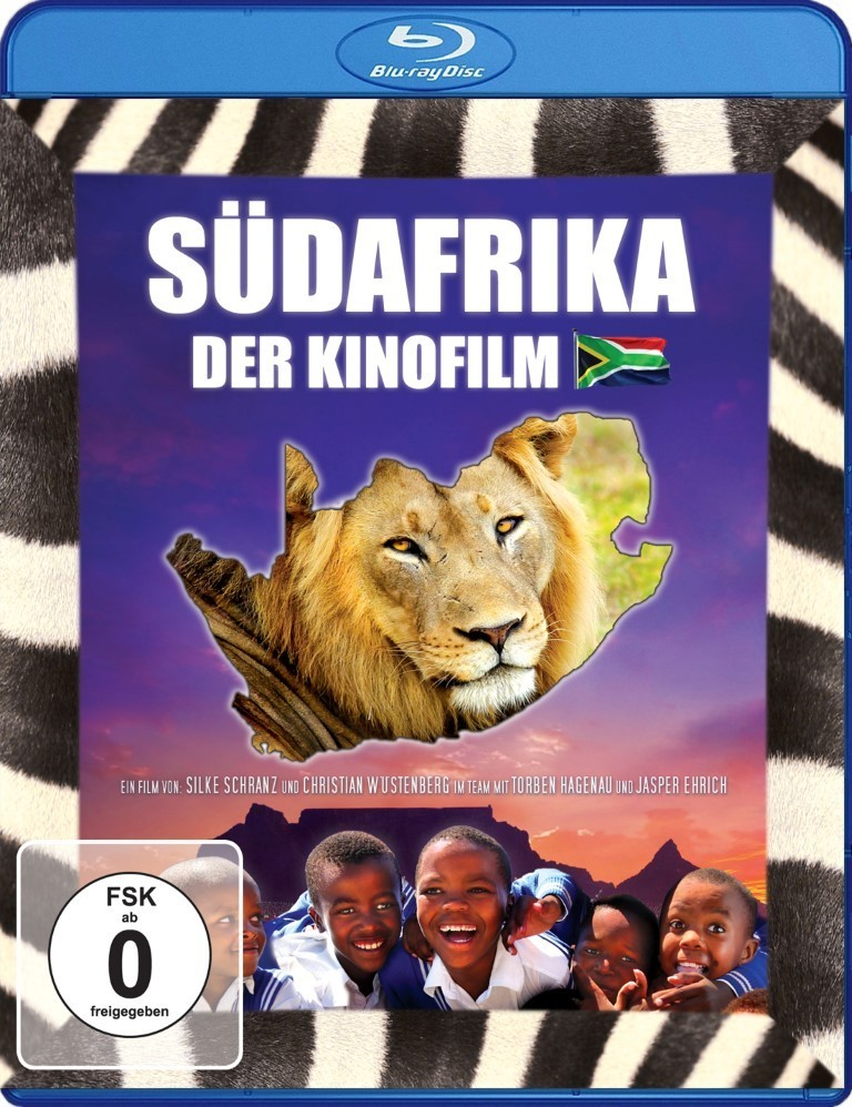 South Africa - The Motion Picture: Blu-ray - German language