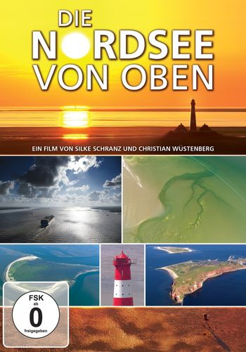 The North Sea from above - German language