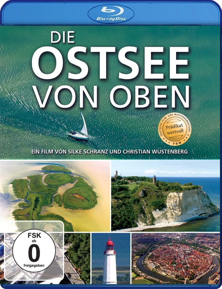 The Baltic Sea from above - German language