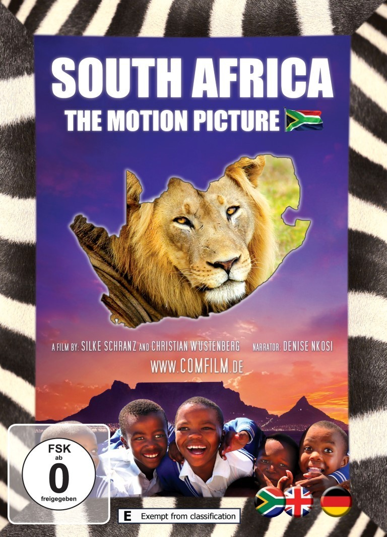 South Africa - The Motion Picture: DVD - English/Deutsch