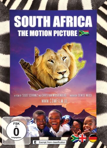 South Africa - The Motion Picture: DVD - English