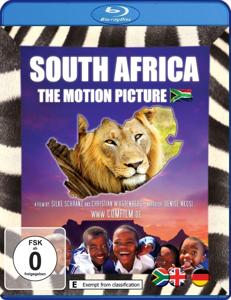 South Africa - The Motion Picture: Blu-ray - English/Deutsch
