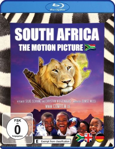 South Africa - The Motion Picture: Blu-ray - English