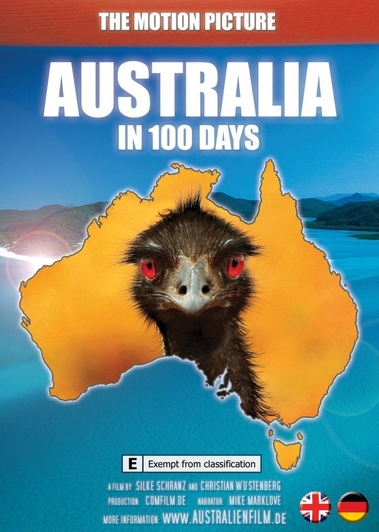 Australia in 100 days - DVD - English version