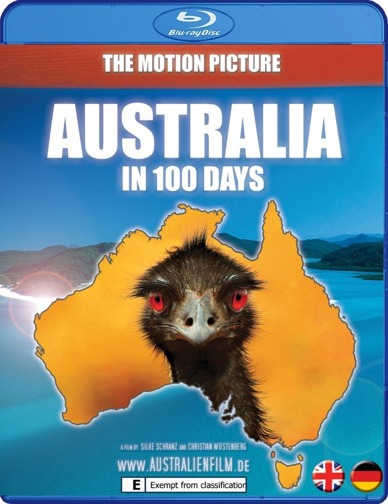 Australia in 100 days - Blu-ray - English version